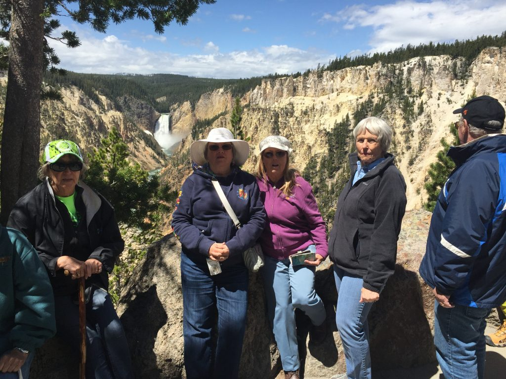 colorado eagles rv club at Yellowstone NP