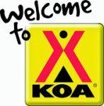 KOA Camping Sign
