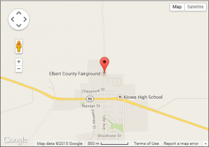 Elbert County Fair Ground Map